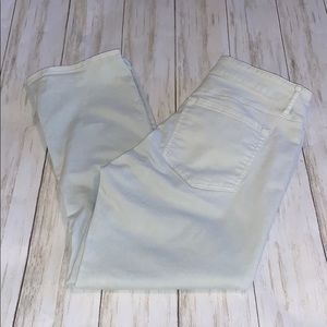 Size 4/27 Loft Mint Curvy Kick Crop Jeans
